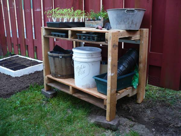 What is your most thoughtful gardening gift ever?... Pallet10